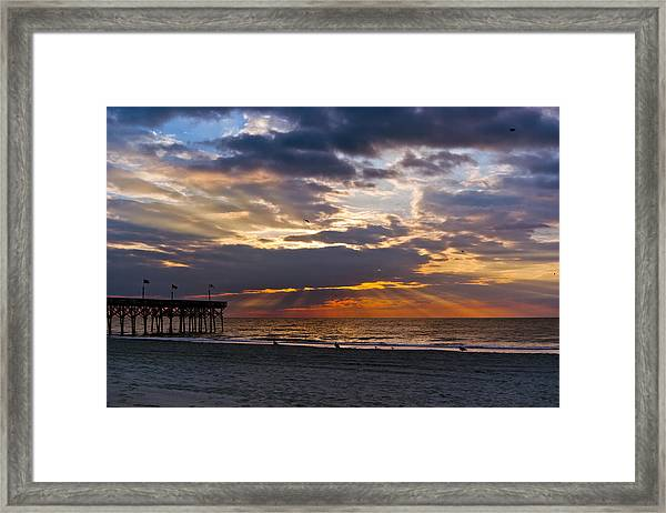 Framed Print featuring the photograph Morning Sunshine by Francis Trudeau
