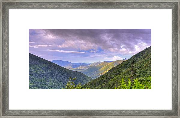 Morning View From Galehead Hut Framed Print