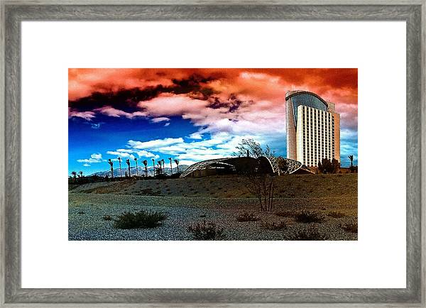 Morongo Casino Framed Print