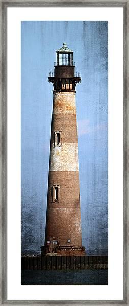 Morris Island Light Framed Print