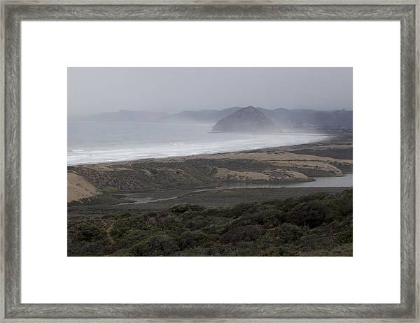 Morro Bay - Morro Rock 1 Framed Print