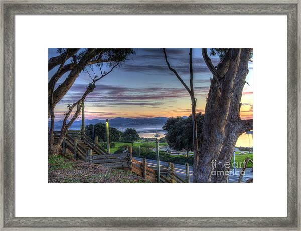 Morro Bay Vista Framed Print