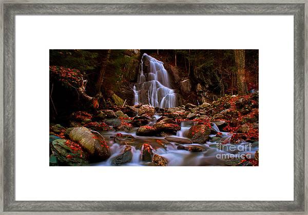 Moss Glen Falls Framed Print