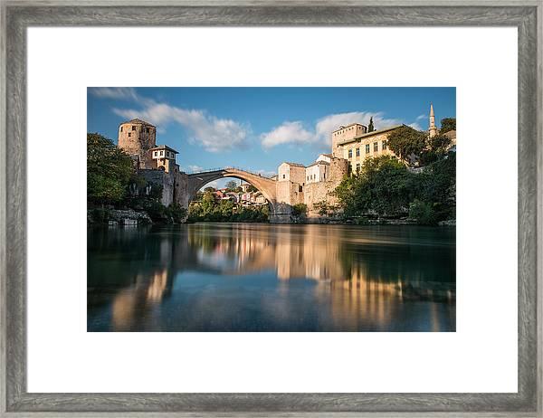 Mostar Bridge Framed Print
