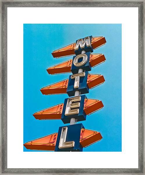 Motel Large Framed Print