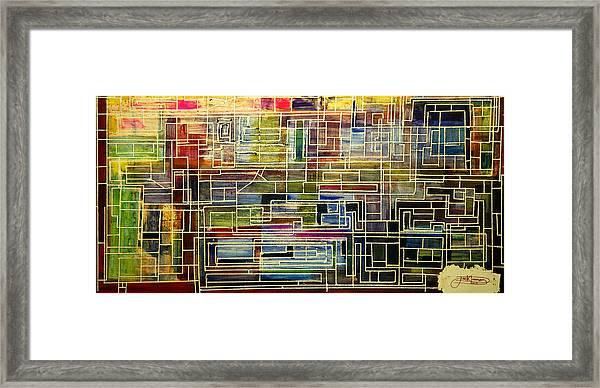 Mother Board Framed Print