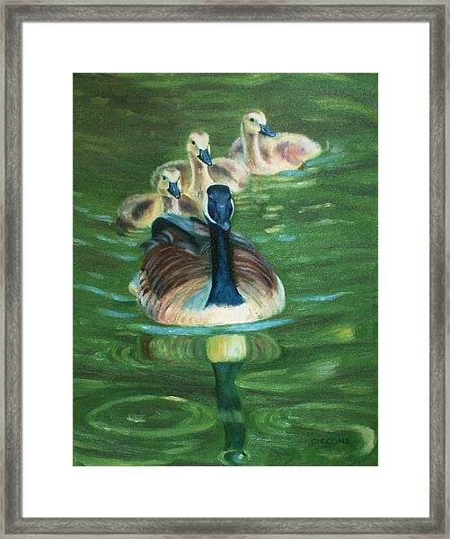 Mother Goose  Framed Print
