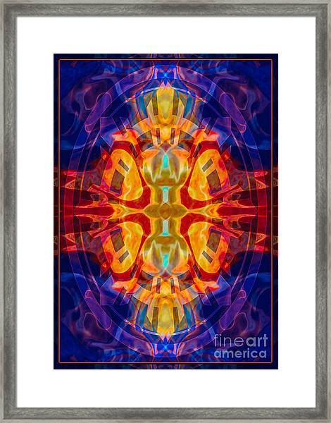 Mother Of Eternity Abstract Living Artwork Framed Print