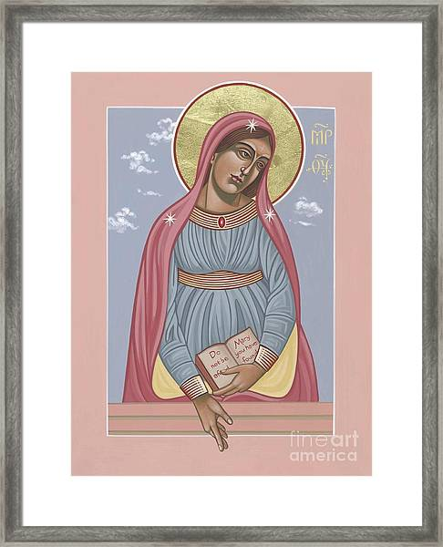 Mother Of Holy Hope 263 Framed Print