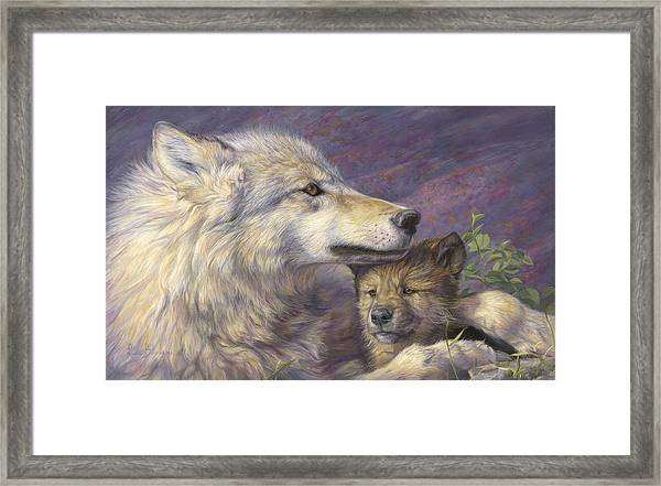 Mother's Love Framed Print