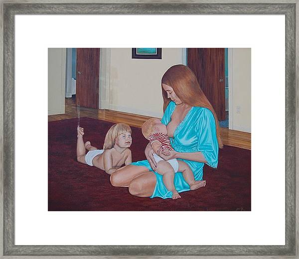 Mother's Milk Framed Print