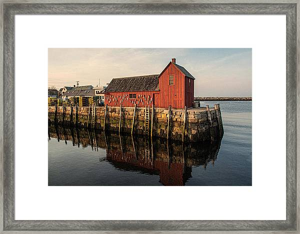 Motif No 1 Warm Framed Print