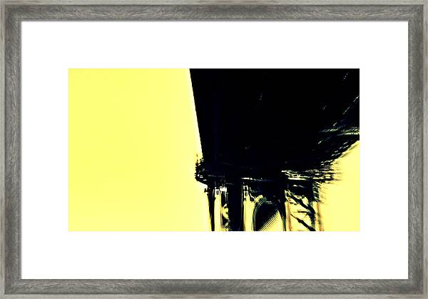Motion Blur 2 Framed Print