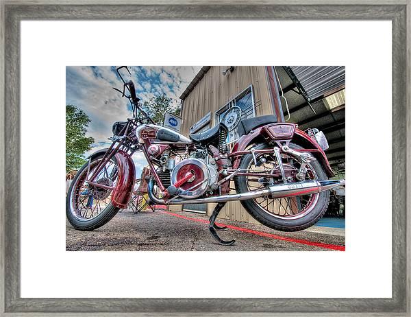 Moto Guzzi Classic Framed Print