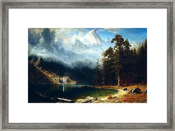 Mount Corcoran Framed Print