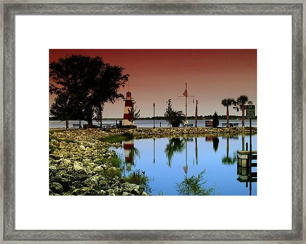 Mount Dora Lighthouse Framed Print
