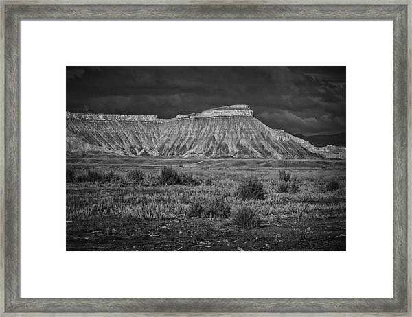 Mount Garfield Framed Print