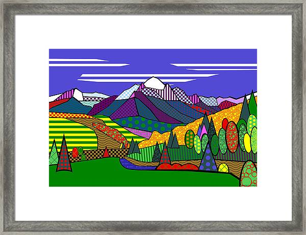 Mount Sneffels Framed Print