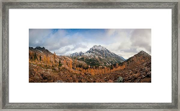 Mount Stuart Panorama Framed Print