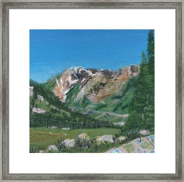 Mount Superior Framed Print