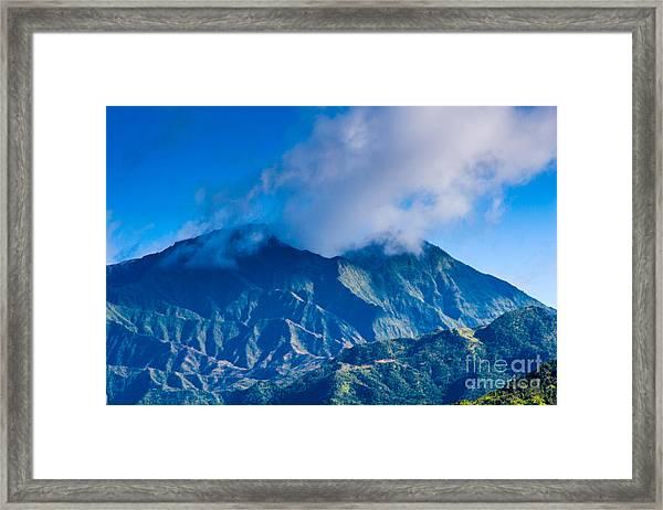 Mount Wai'ale'ale  Framed Print
