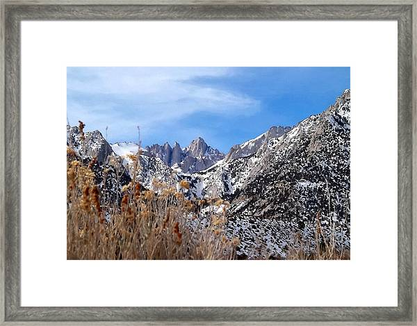 Mount Whitney - California Framed Print