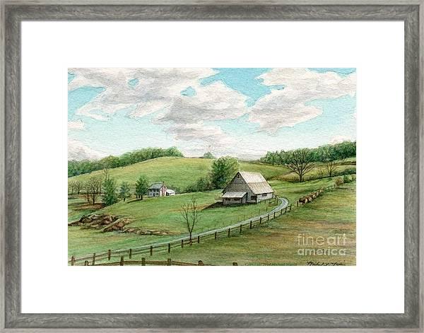 Mountain Barn by Michael Martin