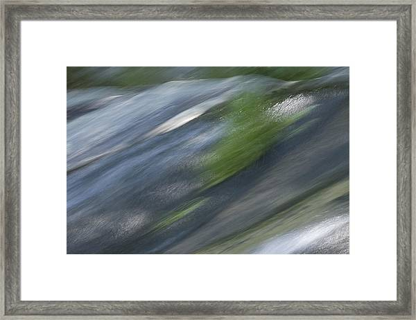 Mountain Cascade 2 Framed Print
