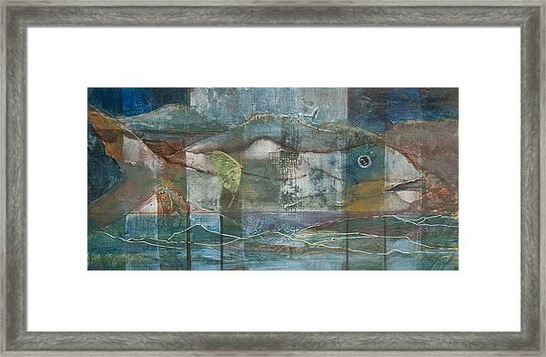Mountain Fish Framed Print