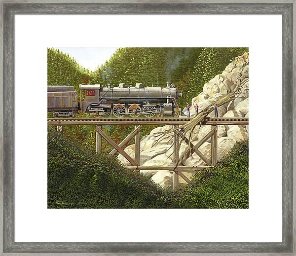 Mountain Impasse Framed Print