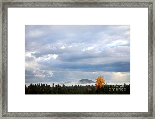302p Mountain Mist Framed Print