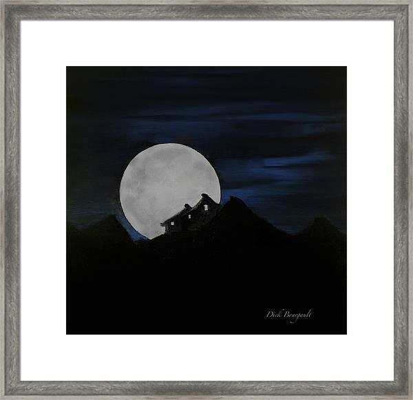 Mountain Monastery Framed Print
