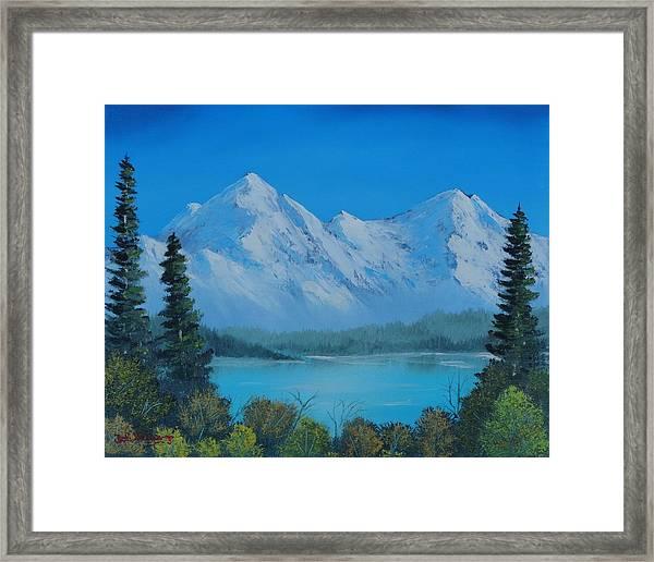 Mountain Outlook Framed Print