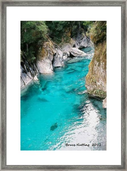 Mountain Pool Framed Print