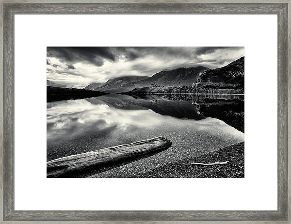 Mountain Prince In Bw 2 Framed Print