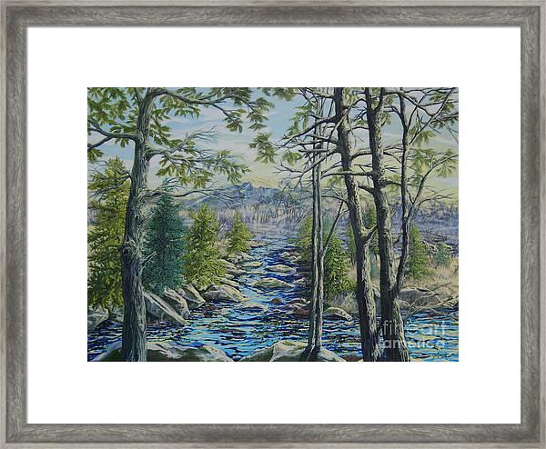 Mountain Stream II Framed Print