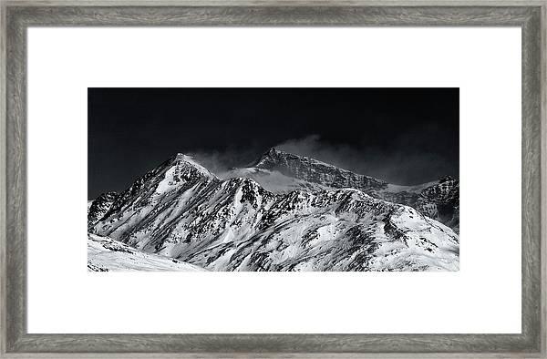 Mountainscape N. 5 Framed Print