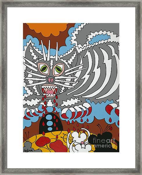 Mouse Dream Framed Print