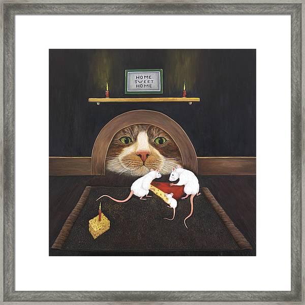 Mouse House Framed Print