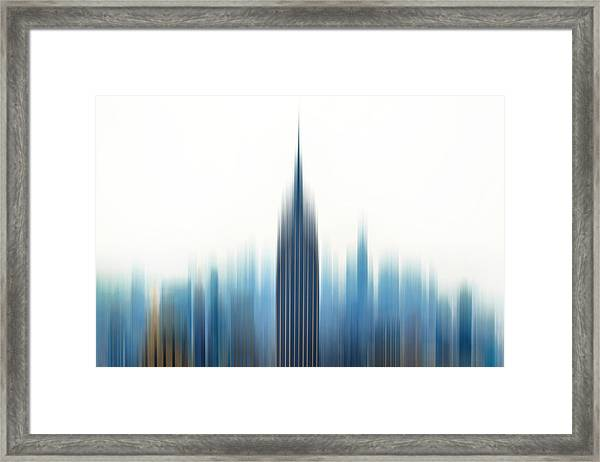 Moving An Empire Framed Print