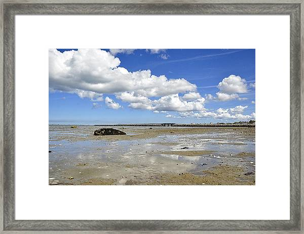 Moving Sea Framed Print