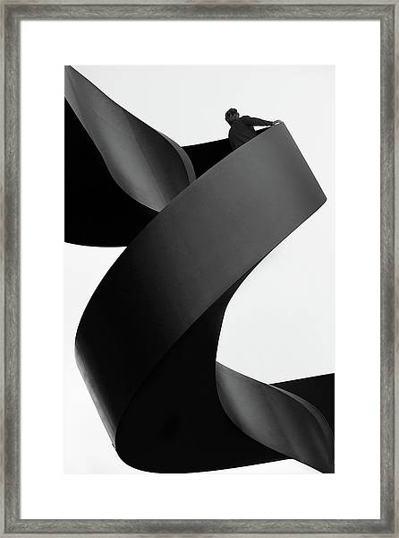 Moving Still Framed Print