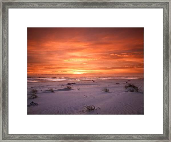 Mozart's Sunset Framed Print