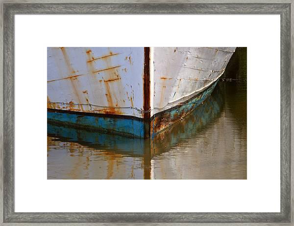Mr. Bell's Boat Framed Print