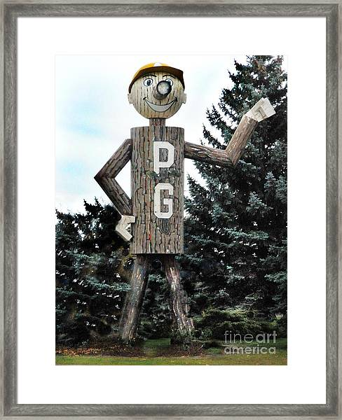Mr. Pg Framed Print