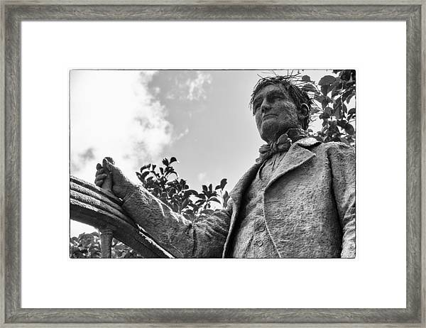 Mr Ryman Framed Print by Glenn DiPaola