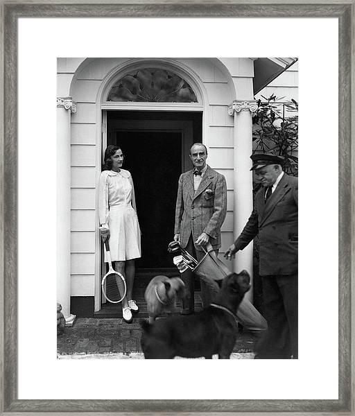 Mr. T. Markoe Robertson Framed Print by Horst P. Horst