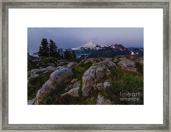Baker Dawn Framed Print by Gene Garnace