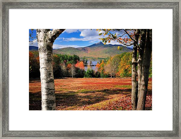 Mt Chocorua - A New Hampshire Scenic Framed Print