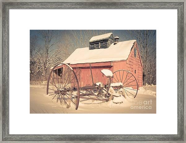 Mt. Cube Farm Old Sugar Shack Framed Print